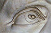David's eye from Michaelangelo--is one way to look at this.